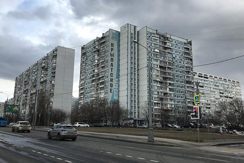 Крылатское остался единственным дорогим для аренды квартир районом в ЗАО, где ставки выросли, а не упали