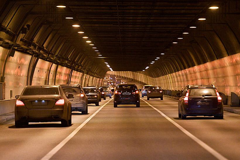 Северо-Западный тоннель под природоохранной зоной Серебряноборского лесничества