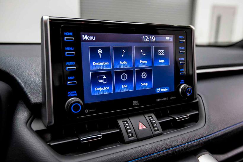 Навигация и магнитола Toyota RAV4 2021 года выпуска