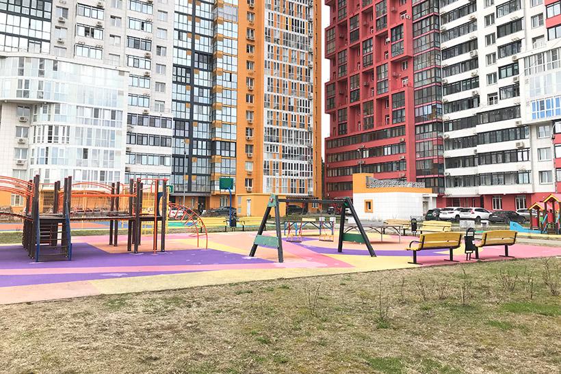 Детская площадка на территории ЖК «Крылатский»