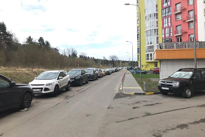Проблема с парковкой в ЖК «Крылатский»