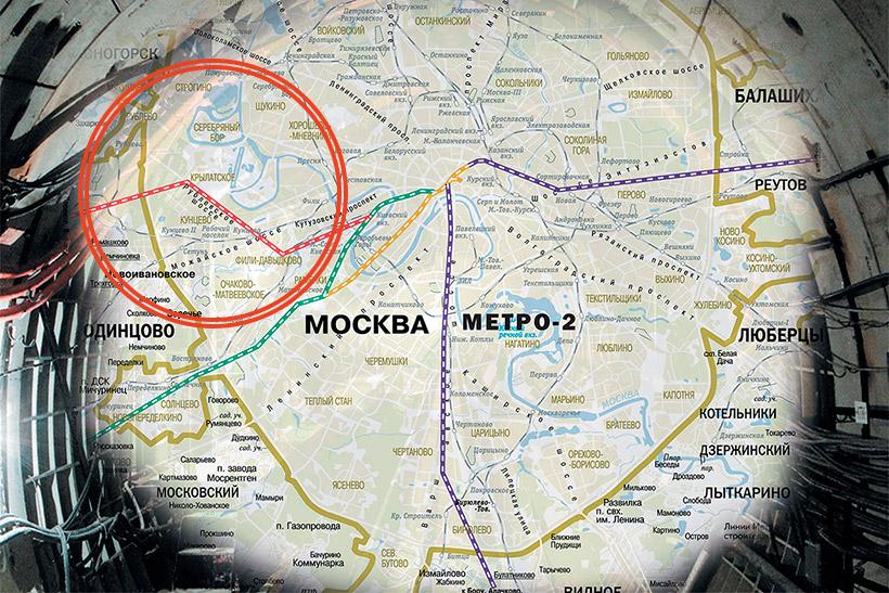 Легенды Крылатского. Секретное метро в Барвиху, или четвертая линия «Метро-2»