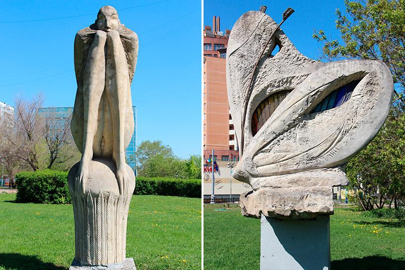 Скульптуры «Бабочка»