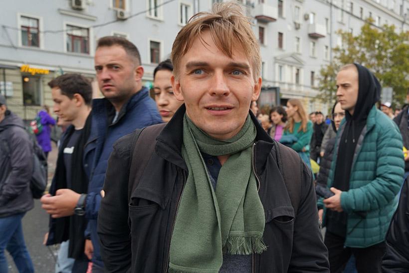 Жители Крылатского, проголосовавшие «по старинке», поддержали кандидата от КПРФ Михаила Лобанова