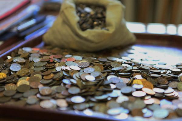 Как обменять монеты на бумажные деньги