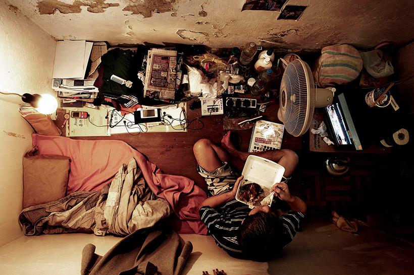 Малогабаритная квартира в Гонконге