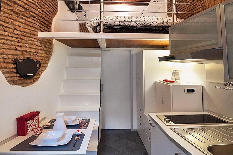 Токийские капсульные квартиры