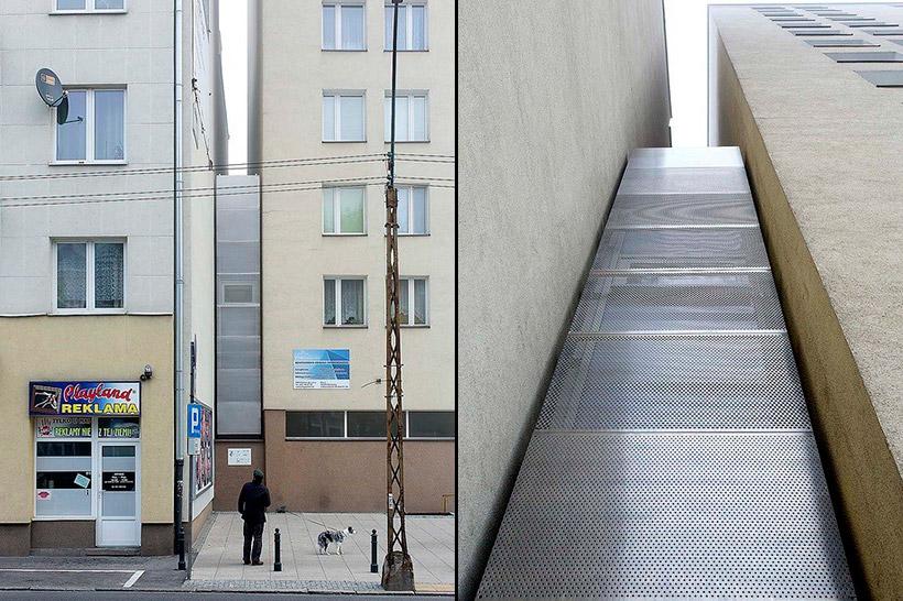 Малогабаритный дом в Варшаве