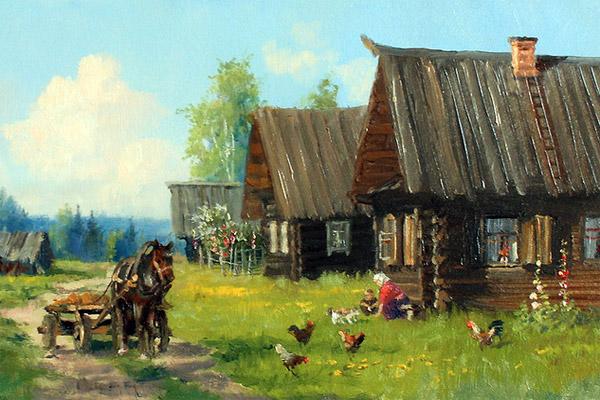 Мечтаешь о домике в деревне?