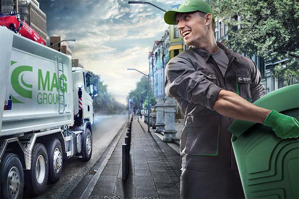 Вывоз мусора контейнером - удобно и комфортно