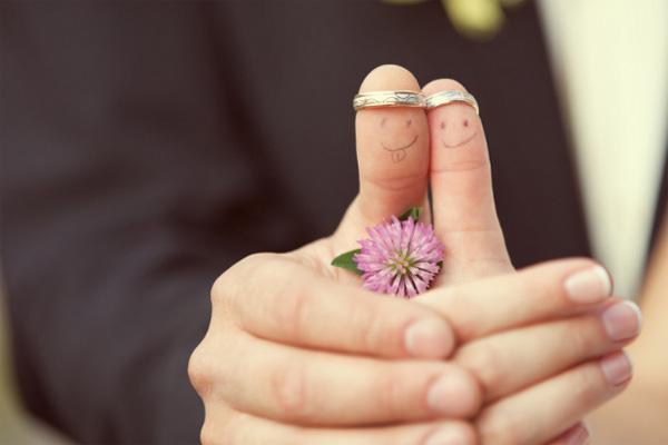 Символы бесконечности и вечной любви для молодоженов