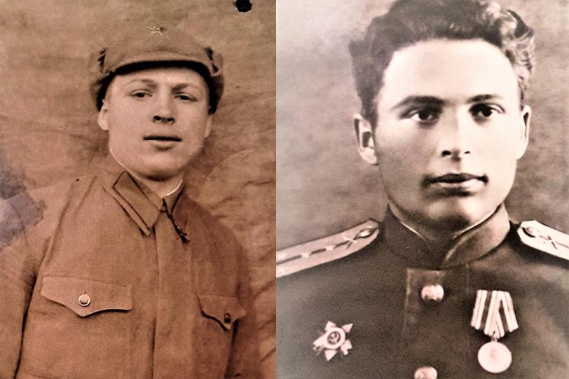 Николай Василега. 1939 и 1944 годы