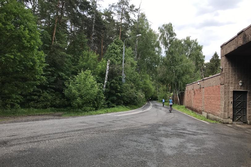 Велодорожка из Крылатского в Строгино