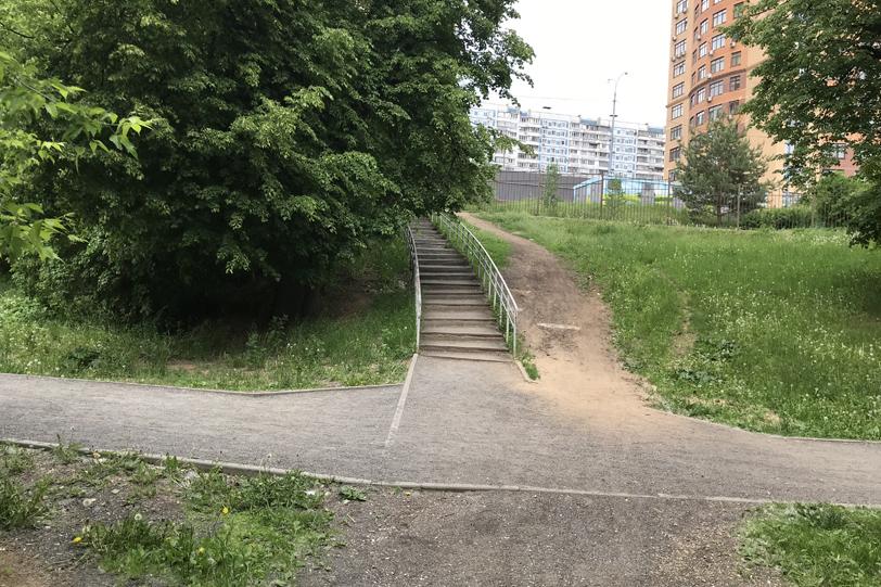 Парк в Строгино