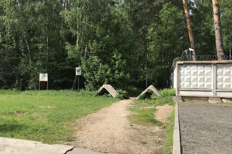 Лесная тропинка на границе районов Крылатское и Строгино