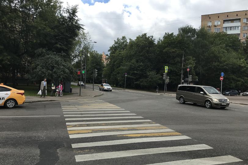 Пересечение с улицами Партизанской и Маршала Тимошенко