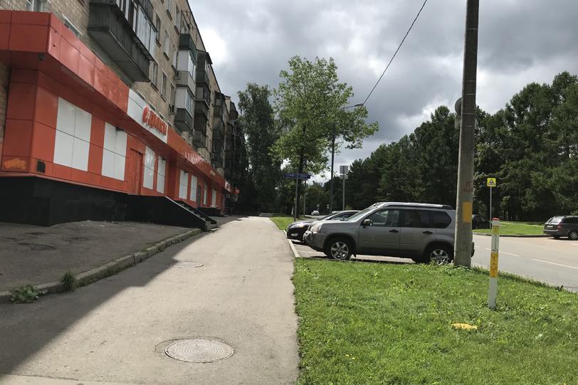 «Дикси» на улице Академика Павлова