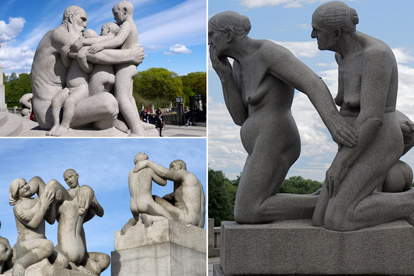 Парк скульптур Вигеланда