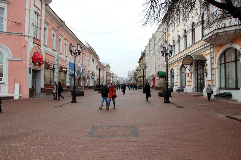 Большая Покровка в Нижнем Новгороде