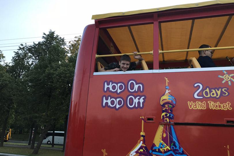 Экскурсии по Москве на двухэтажных автобусах