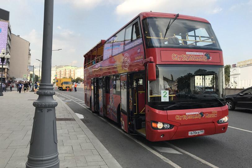 Двухэтажные экскурсионные автобусы City Sightseeing