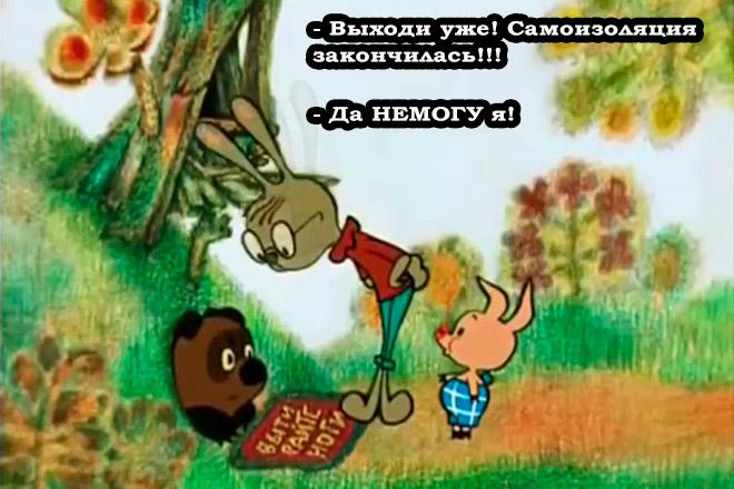 Коронавирусный мем фото №7