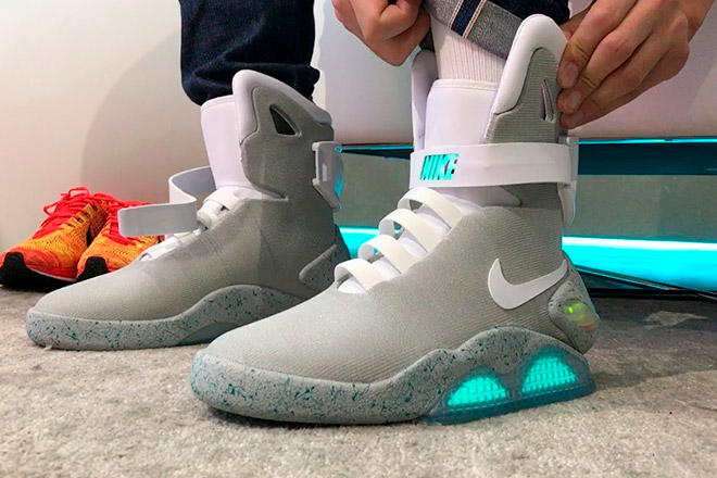 Кроссовки Nike MAG Back to the Future